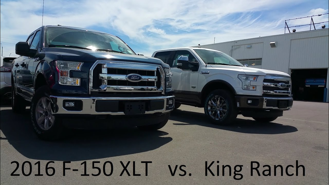 F150 Vs F250 >> 2016 Ford F-150 - XLT vs King Ranch - Walk around & Review ...