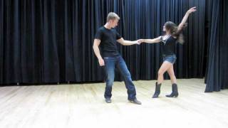 Country Swing Dancing - Tricks Flips Aerials & Dips
