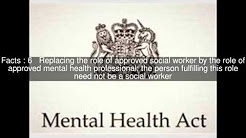 Mental Health Act 2007 Top  #14 Facts