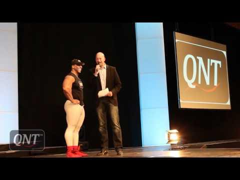 FIBO 2012 - QNT team on stage