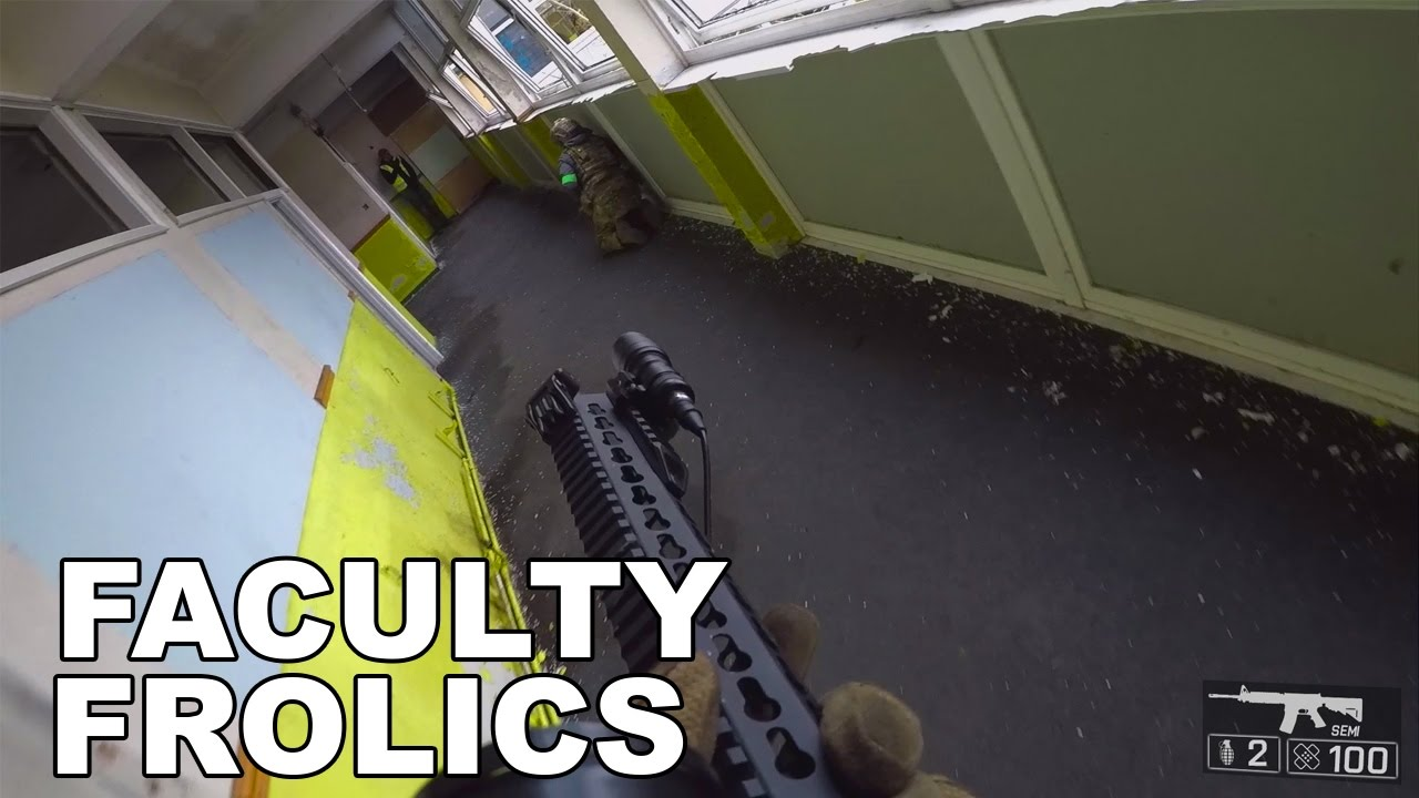 airsoft wars 2017 hpa pistol gameplay faculty frolics youtube
