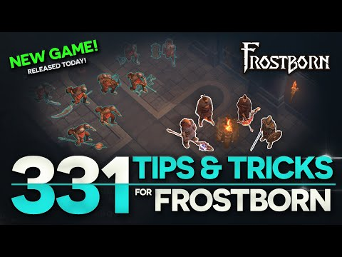 331 Tips and Tricks for Frostborn: Coop Survival. Exhaustive Overview! JCF