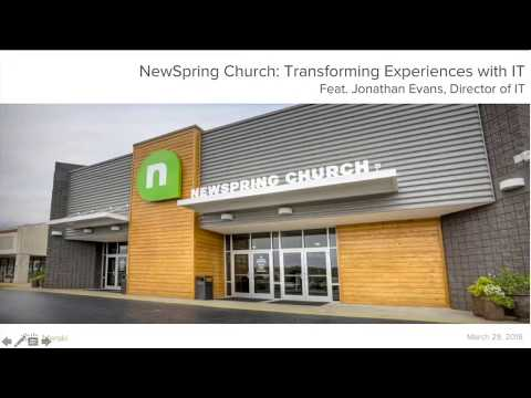 NewSpring Church: Transforming Experiences with IT