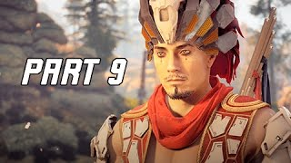 Horizon Zero Dawn Walkthrough Part 9 - NIL Bandit Hunter (PS4 Pro Let's Play Commentary)