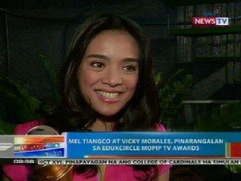 NTG: Mel Tiangco at Vicky Morales, pinarangalan sa Edukcircle Mopip TV Awards