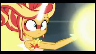 MLP: Equestria Girls – Friendship Games! Sunset Shimmer Defeat Midnight Twilight!