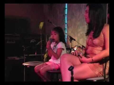 Hailey Sings in Manila Karaoke Bar (2003)
