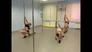 Танцы на пилоне NOVA Чебоксары/Новочебоксарск: связка за 5 минут, шаги. Уроки полдэнс для новичков
