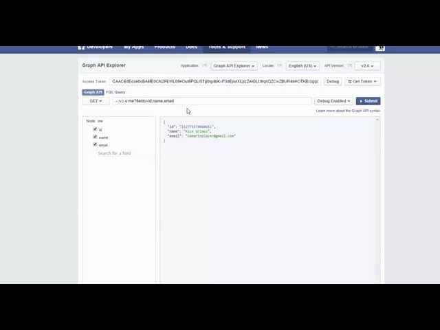 Xamarin Android Tutorial   73   JSON with Facebook results
