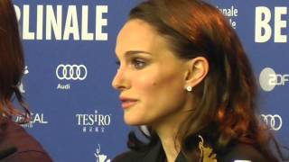 Natalie Portman on Terrence Malick and Knight of Cups Berlinale 2015