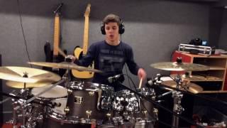meshuggah the violent sleep of reason album medley drum cover