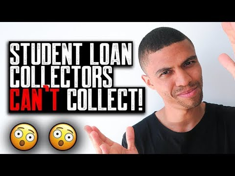 STUDENT LOAN COLLECTORS CAN'T COLLECT || 100 POINTS BOOST