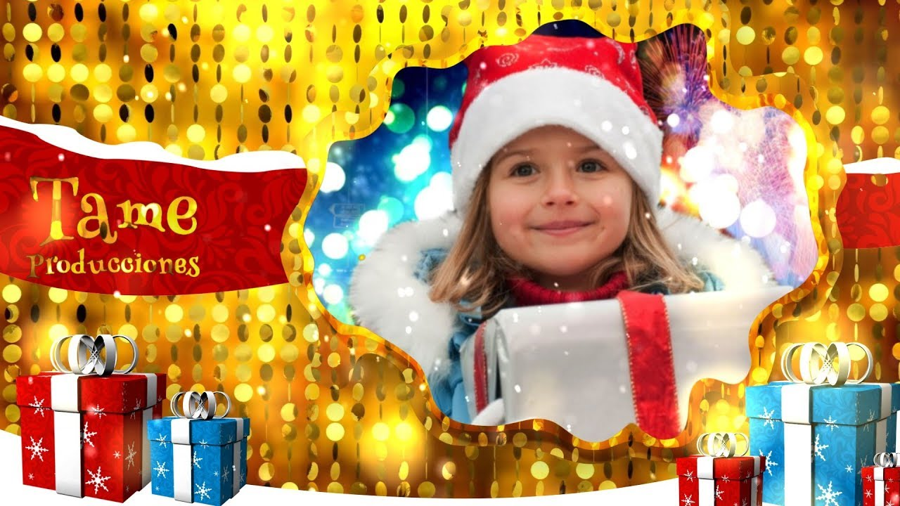 template sony vegas pro 11 - 12 - 13 christmas gifts [tame, Powerpoint templates