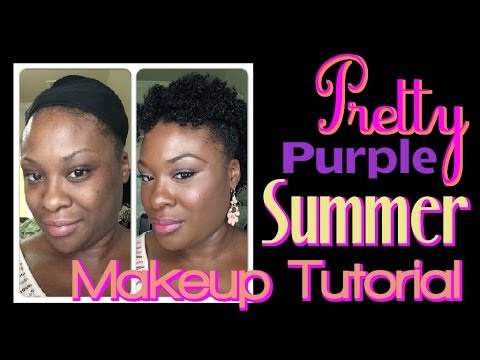 Summer Makeup Tutorial feat. Makeup Geek Eyeshadows & Estee Lauder Double Wear Foundation/Powder thumbnail