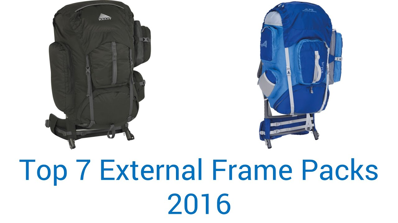 7 best external frame packs 2016