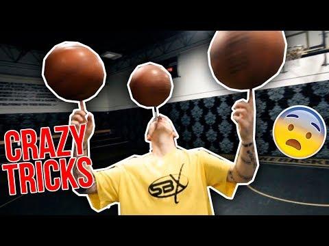 CRAZY BASKETBALL FREESTYLE SKILLS