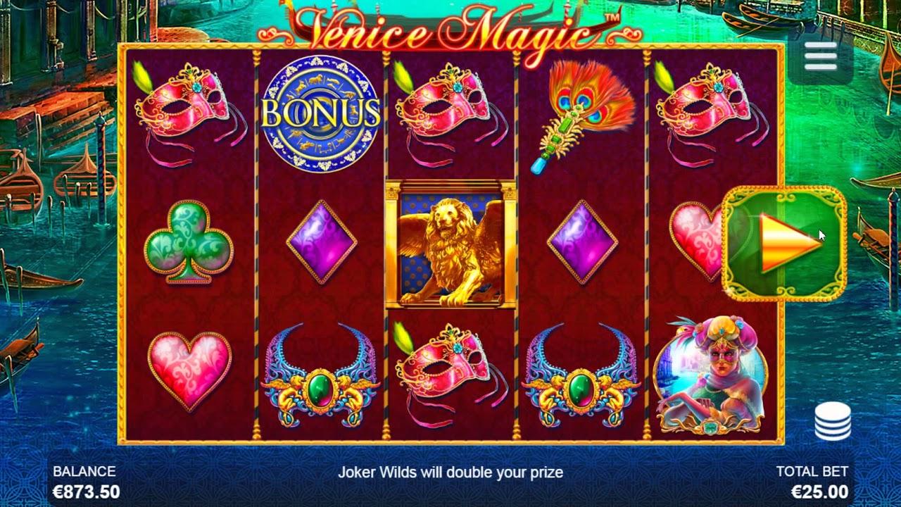 игровой автомат венецианский карнавал играть бесплатно без регистрации