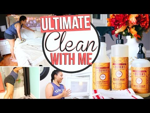 ULTIMATE CLEAN WITH ME 2017 | EXTREME CLEANING MOTIVATION!! | Page Danielle