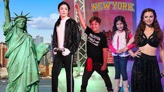 UM DIA EM NOVA YORK COM A FAMÍLIA MARIA CLARA E JP -  PLAYING AND HAVING FUN IN NY