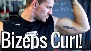 Beste Übung für einen großen Bizeps!   Bizeps Curl