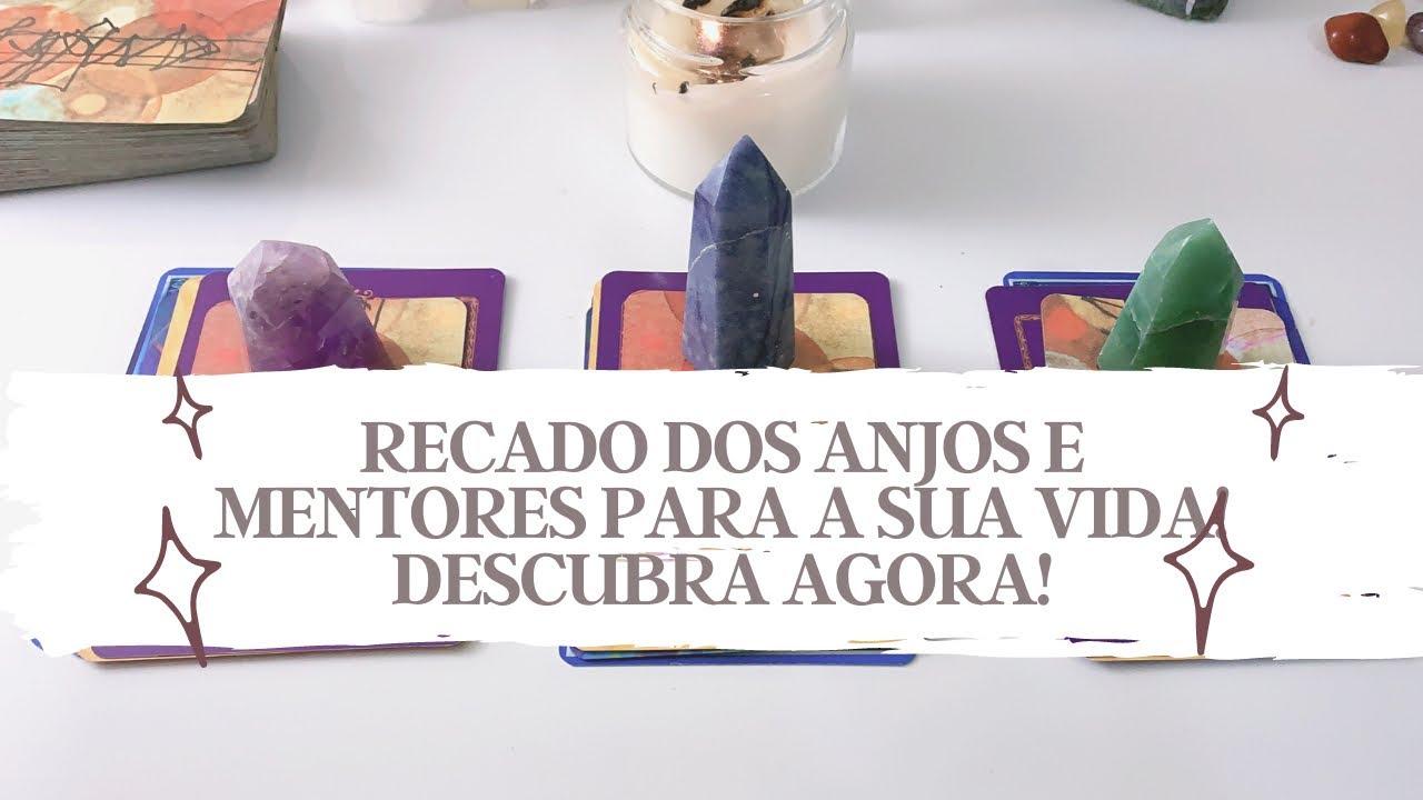 RECADO DO UNIVERSO E DOS ANJOS PARA A SUA VIDA! - Tarot responde