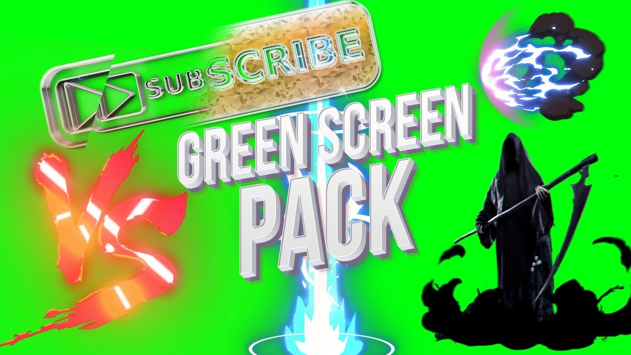 The Ultimate Green Screen Effects Pack + Download
