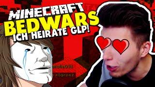 GERMANLETSPLAY & ICH WERDEN HEIRATEN! ✪ Minecraft Bedwars Woche Tag 123 mit GLP