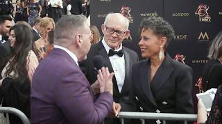 Max Gail & Vernee Watson Interview - General Hospital - 46th Annual Daytime Emmy Awards Red Carpet