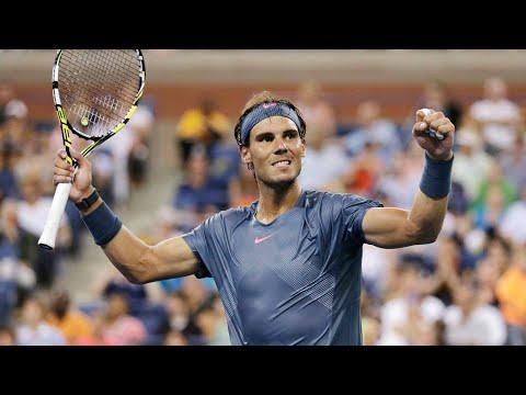 2017 US Open: Across the net from Rafael Nadal