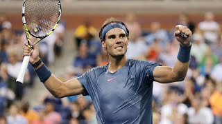 2017 US Open: Across the net from Rafael Nadal