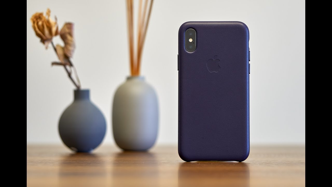 online store 6bb2e da904 iPhone X Space Grey & Dark Aubergine Leather Case Unboxing - iPhone X Uzay  Grisi Kutu Açılımı