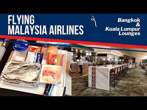 FLIGHT REPORT | Malaysia Airlines from Bangkok to KLIA & Lounges