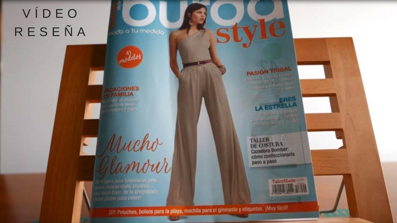 Rese A Revista Burda Style Abril 2017 Youtube