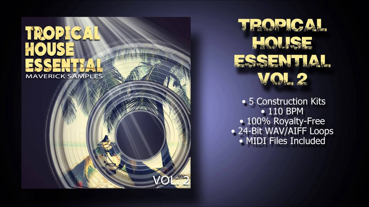 Tropical House Sample Pack vol2 - YouTube