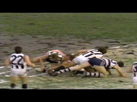 1989 Collingwood Vs Geelong Rd 13 MCG