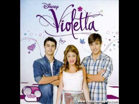 02 Algo suena en mi!CD violetta (COMPLETA)