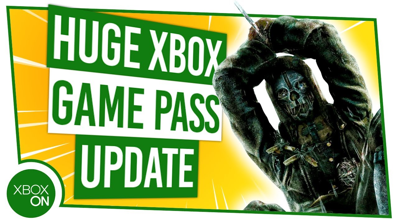 Xbox Game Pass Update 6 New Console Titles Added October