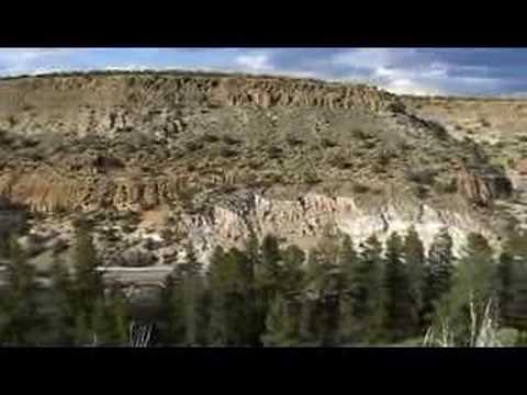 Red Rock Area near Los Alamos, New Mexico