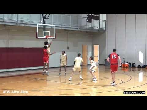 Aleu Aleu - Temple College vs. Strength'N Motion Basketball Highlights (1/8/2021)