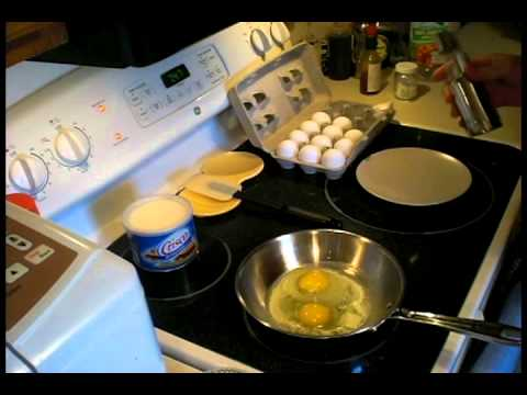 how to cook an egg without it sticking