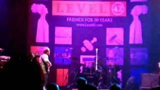 Level 42 - The Sunbed Song - Club Nokia 7/31/10, Los Angeles, Calif.