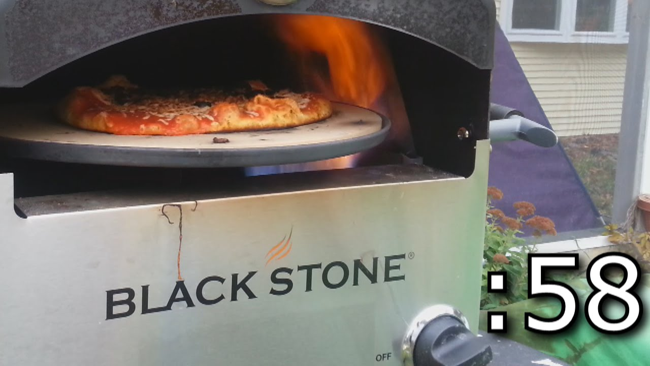 60 Second NY Style Pizza In 1000 °F Blackstone Oven