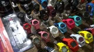 CASIO G-SHOCK MIKE835'S COLLECTION VIDEO #6 1/1/13 OVER 100 STRONG(CASIO G-SHOCK MIKE835'S COLLECTION VIDEO #6 1/1/13 OVER 100 STRONG Want to have a place to talk about G-shocks?, drop my group on Facebook, ..., 2013-01-01T23:50:08.000Z)