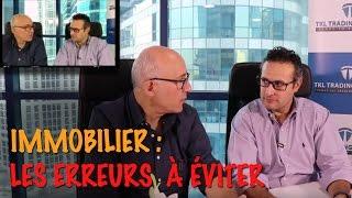 Investir dans l'immobilier : Les erreurs et risques à éviter ! #olivierseban #thamikabbaj