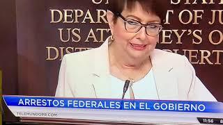 Arrestos en Puerto Rico Rueda de prensa(subcribasen)