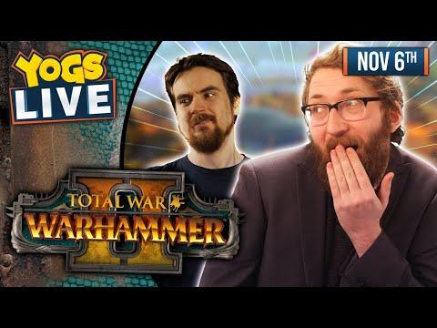 LIZARDMAN RULE, CHAOS DROOL - Total War: Warhammer II! W/ Ben & Tom - 06/11/19