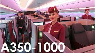 Qatar Airways The World's FIRST A350-1000 Flight