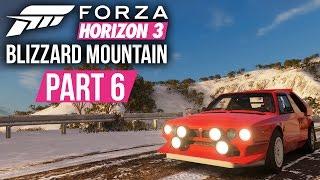 Forza Horizon 3 Blizzard Mountain Gameplay Walkthrough Part 6 - SO FAST