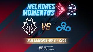 Mundial 2019: Fase de Grupos - Dia 3 | Melhores Momentos G2 x C9 (Jogo 6) (By Dell Gaming)