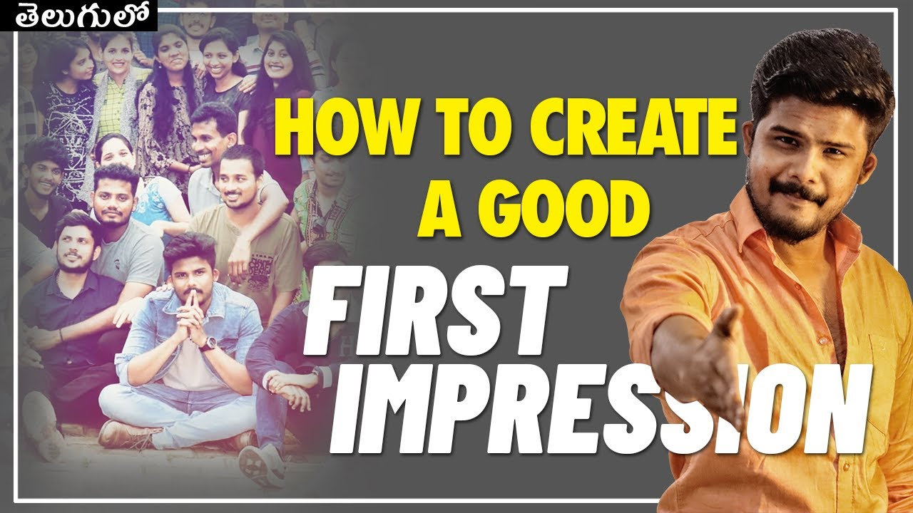 How To Create A Good First Impression | 5 Tips For All Men | TFV Lifestyle